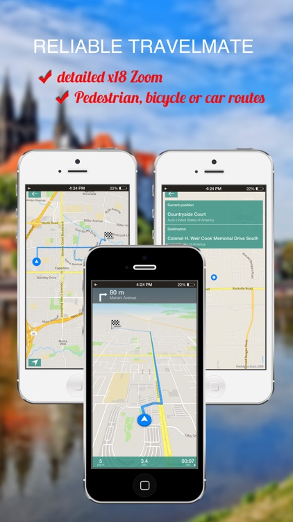 Navarre, Spain : Offline GPS Navigation