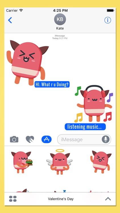 Cute Kawaii Stickers for iMessage!