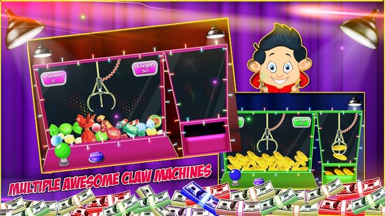 Claw Machine Simulator - Free Prize Kids Games screenshot-3