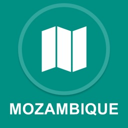 Mozambique : Offline GPS Navigation