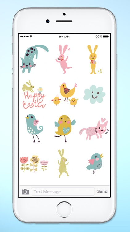 Spring and Easter Animals and More Sticker Pack