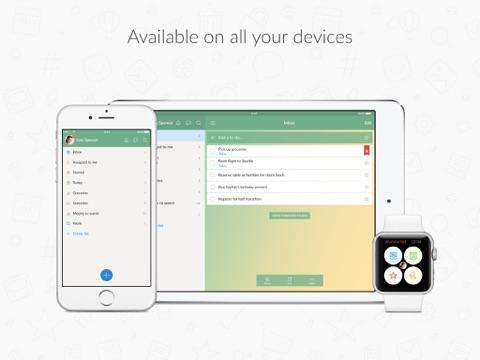 Wunderlist: Liste des tâches iPad