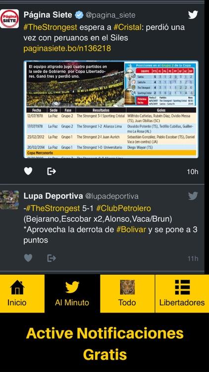 Soy del Tigre - The Strongest - Bolivia Futbol screenshot-3