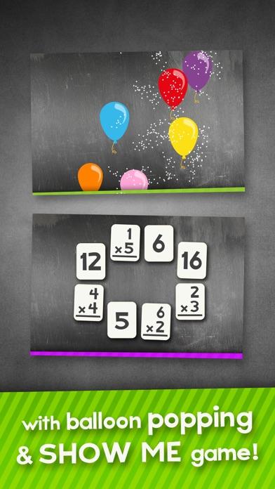 乘閃存卡遊戲趣味數學實踐屏幕截圖2