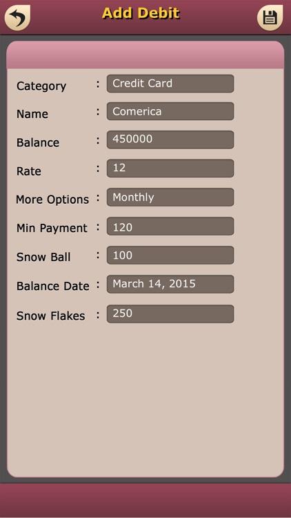 Debt Pay Off Manager screenshot-4
