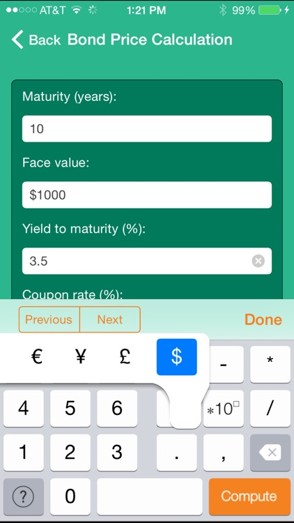 Wolfram Personal Finance Assistant App screenshot-1