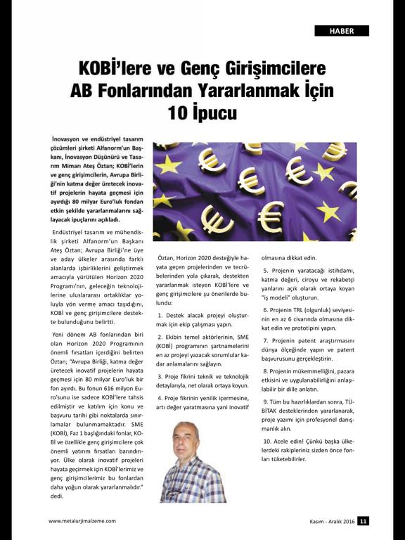 Metallurgy Material Magazine screenshot 8