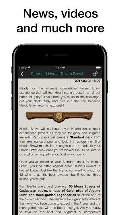 Pocket Wiki for Hearthstone: Heroes of Warcraft screenshot-4