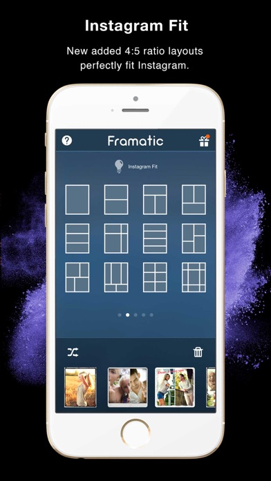 Framatic Pro - Photo Collage App Screenshot