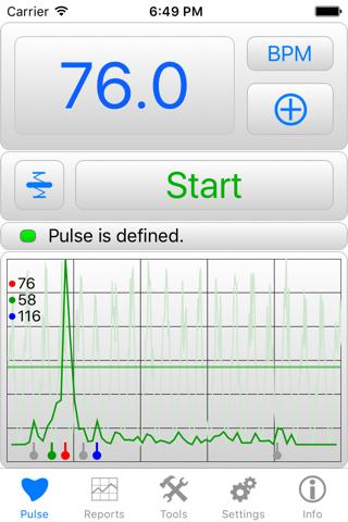 iHeart Pro - Pulse Reader - náhled