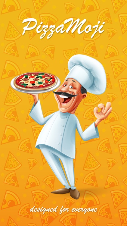 PizzaMoji - pizza stickers and emojis keyboard app