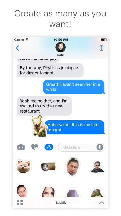 Stickify - create stickers for iMessage