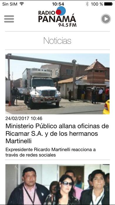 Radio Panamá para iPhone screenshot three