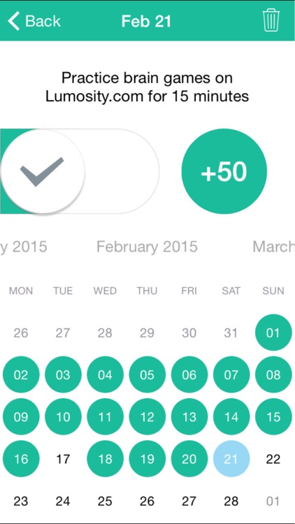Being Beethoven-simple habits, daily goals tracker screenshot-3