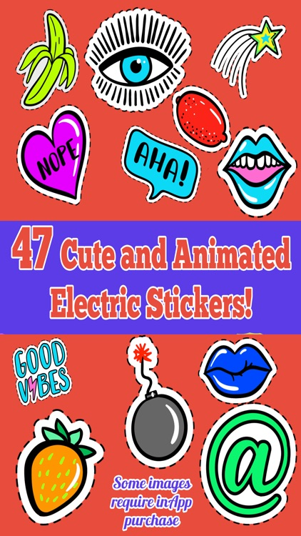 Electric Dreams Sticker Pack