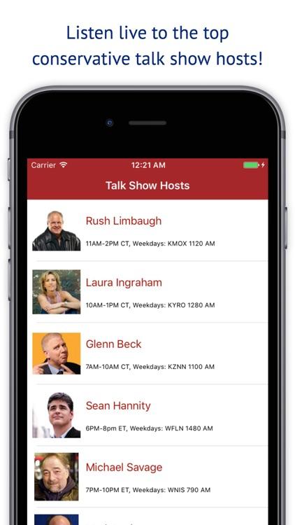 Conservative Talk Radio Plus - Live Hosts Stations