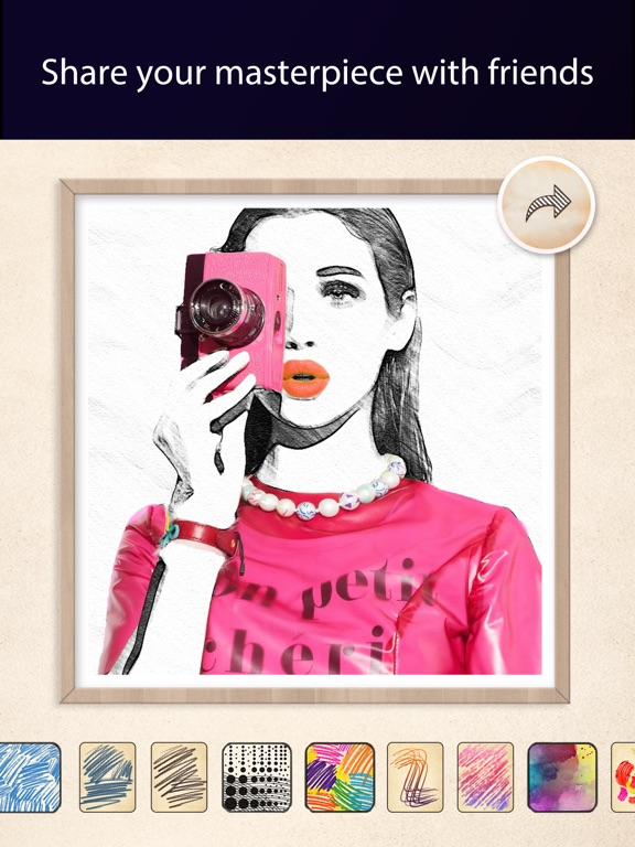 Pic Sketch – Pencil Draw Effects Maker-ipad-4