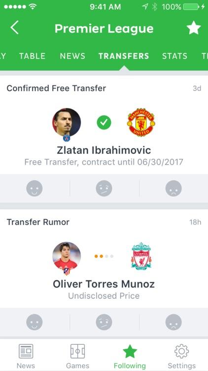 Onefootball Soccer News screenshot-4