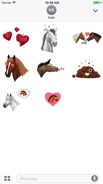 Star Stable Valentine Stickers