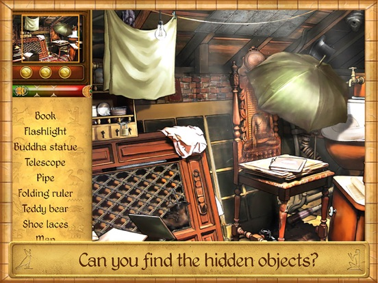 Hidden Objects: Pharaoh's Golden Amulet-ipad-1