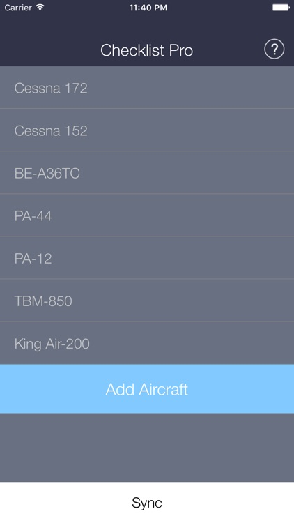Aircraft Checklist Pro screenshot-0