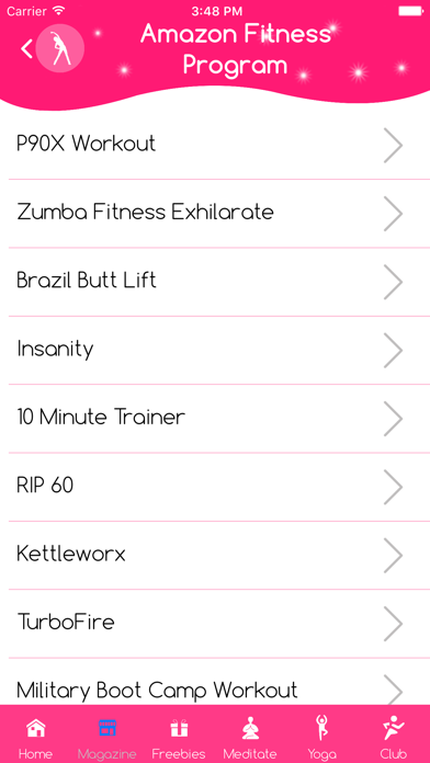 Booty and ab workout yoga ball screenshot four