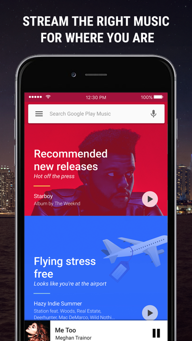 Google Play Musique sur pc