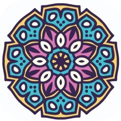 Adult Mandala Boyama Sayfaları Yetişkin Terapisi App Storeda