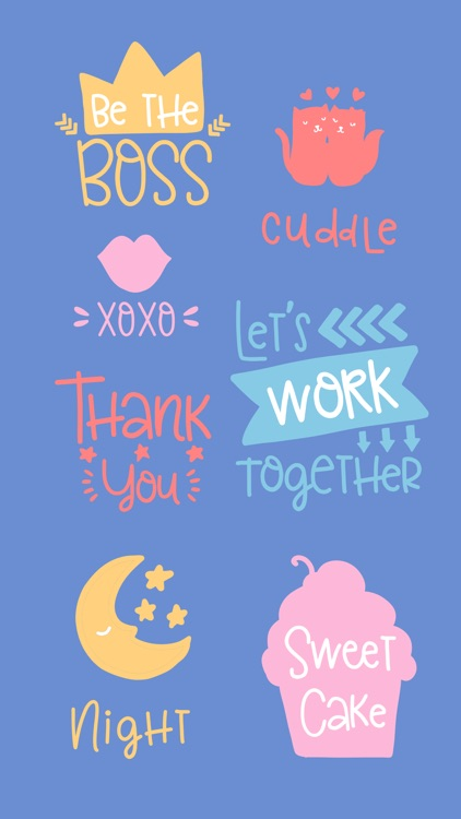 Smile - Sweet Everyday Saying Stickers