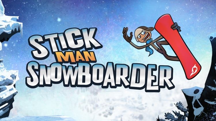 Stickman Snowboarder™ screenshot-0