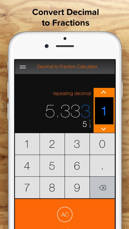 Fraction Calculator + Decimals