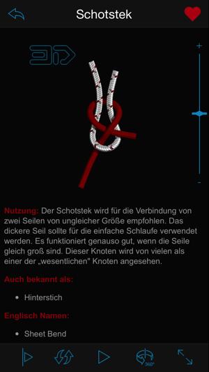 Knots 3d knoten im app store for Geschwindigkeit in knoten