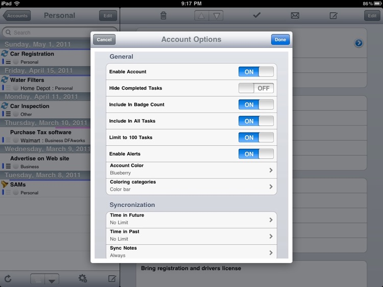 eTask for iPad screenshot-3
