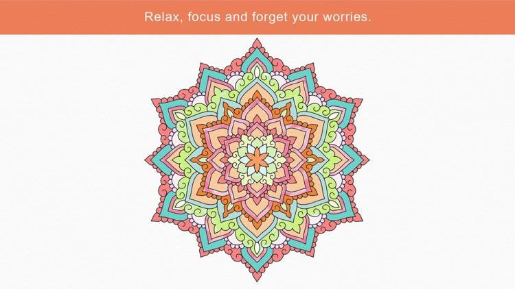 Zen: coloring book for adults (Premium) screenshot-4