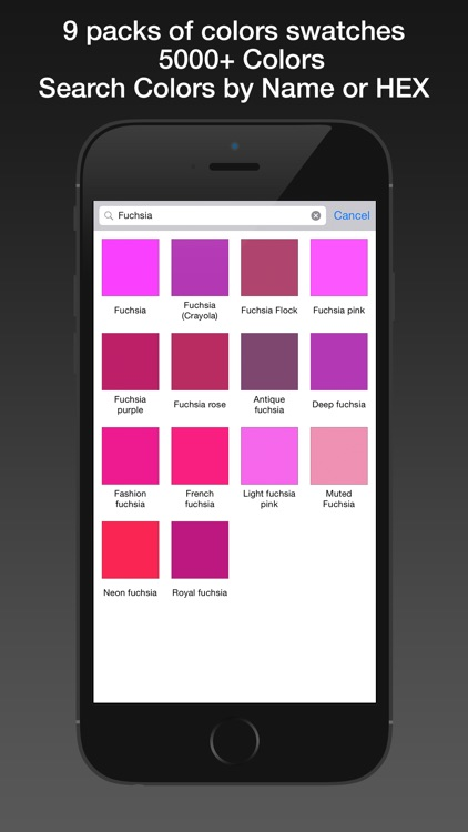 Color Name Detector PRO screenshot-3