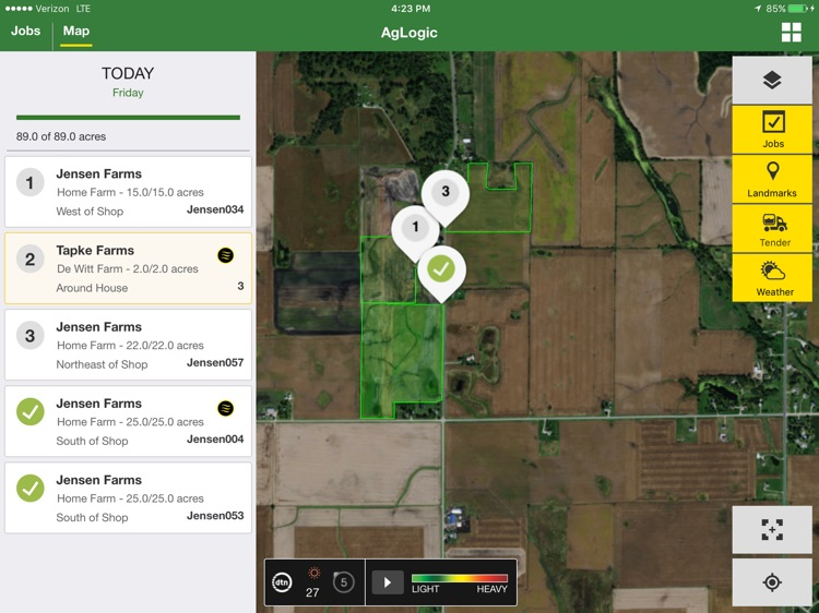 John Deere AgLogic™ screenshot-0