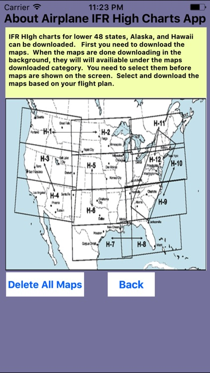 Airplane Charts Instrument Flight Rules IFR (H) screenshot-4