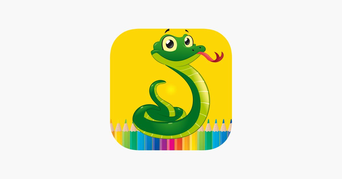 Cocuklar Icin Kitap Boyama Yilan Cizimleri App Store Da