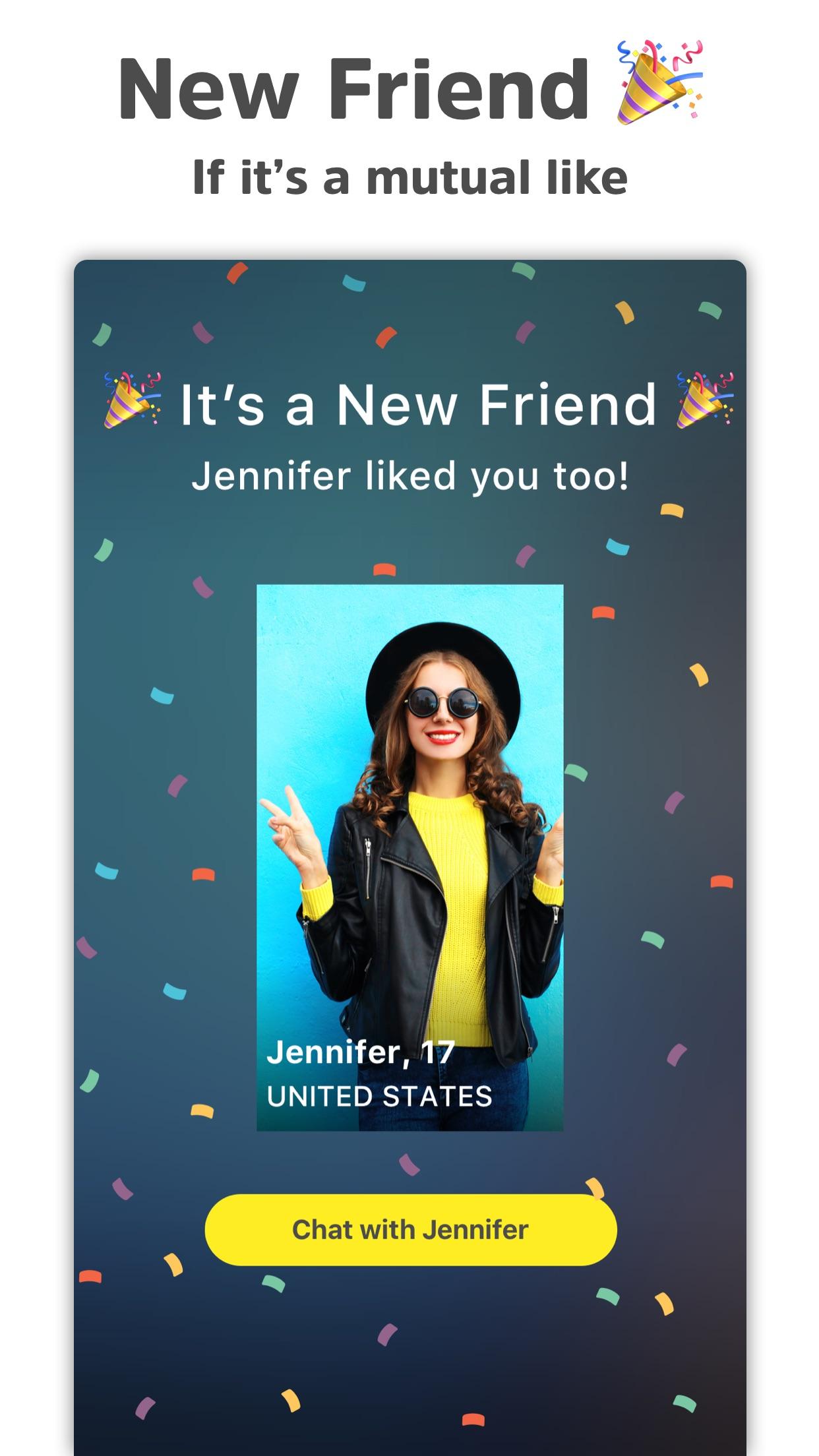 Yellow - Make new friends Screenshot