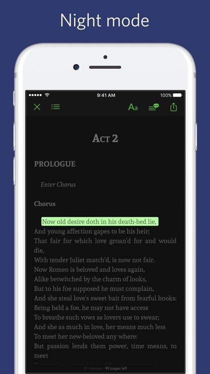 Romeo and Juliet - sync transcript screenshot-3