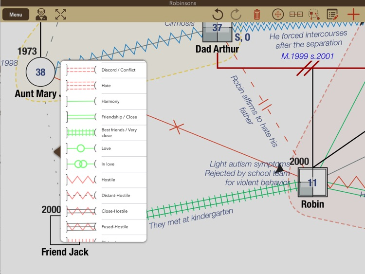 iGenogram: Genogram Editor screenshot-1
