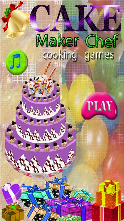 Cake Maker Chef Cooking Games For Wedding Birthday By Hfz Atta Ur Rehman