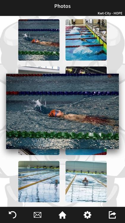 Elite Swim Team Kuwait by Mobile Inventor Corp
