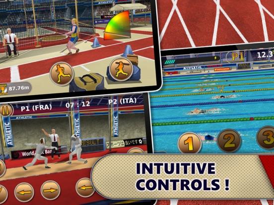 Athletics: Summer Sports screenshot 9