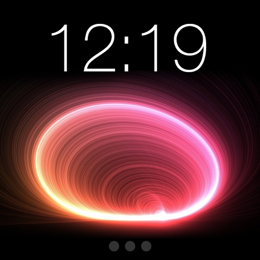 Cool Black Red & Blue Wallpapers Theme Lock Screen
