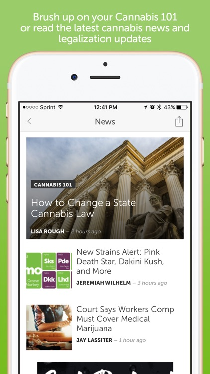 Leafly Marijuana Strain and Dispensary Reviews screenshot-4