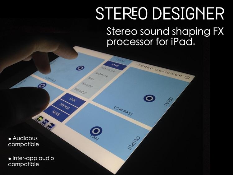 Stereo Designer - Stereo Shaping Processor screenshot-0
