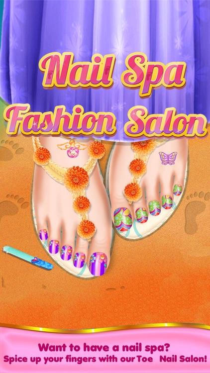 Toe Nail Salon Beauty Nail Art For Fashion Girls By Himanshu Shah