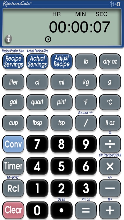 How to reduce recipe calculator.