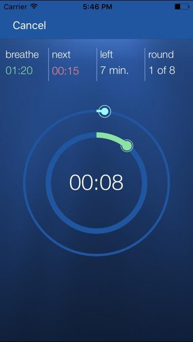 Screenshot for STAmina Apnea Trainer in United States App Store